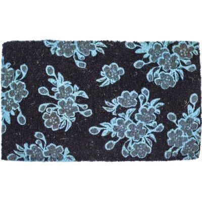 Floral Handwoven Doormat