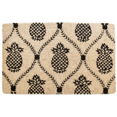 Williamsburg Pineapple Trellis Doormat