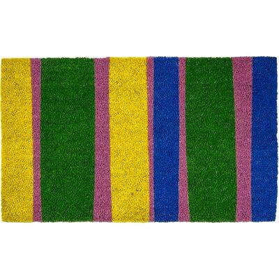 Sweet Home Bands of Color Doormat