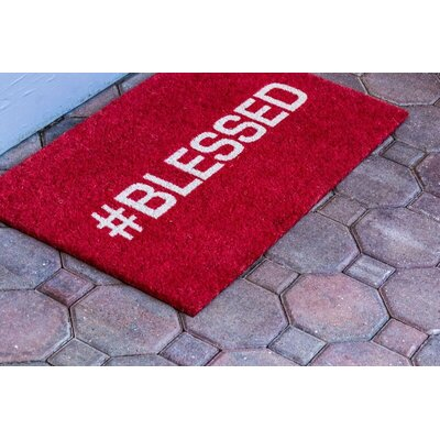 Sweet Home Blessed Doormat