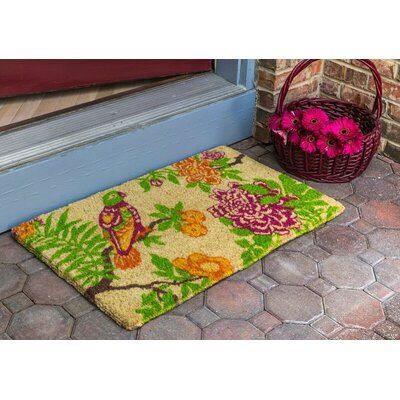 Williamsburg Summer Peony Doormat
