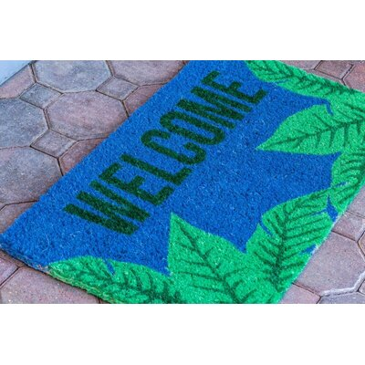 Palms Welcome Doormat