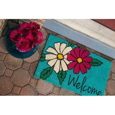 Sweet Home Floral Welcome Doormat