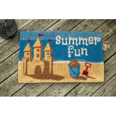 Summer Fun Doormat