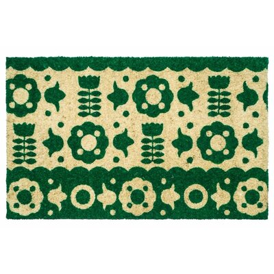 Sweet Home Folk Flowers Doormat