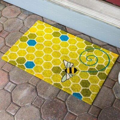 Sweet Home Honeycomb Doormat