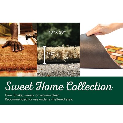 Sweet Home Pine Cones Doormat