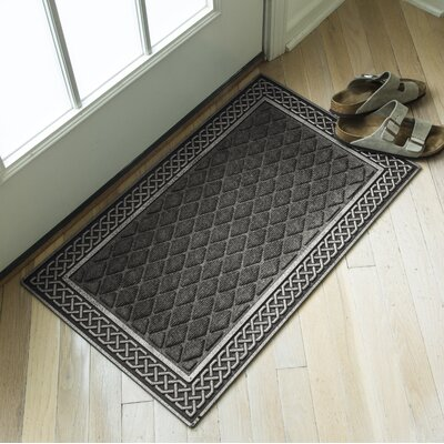 Weather Beaters Silver/Gray Polypropylene Mat