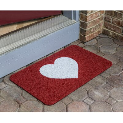 Simplicity Warm Heart Door Mat