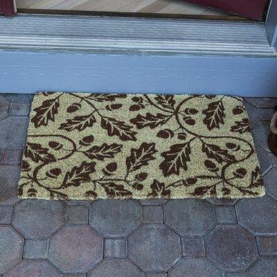 Acorns Hand-Woven Coconut Fiber Door Mat