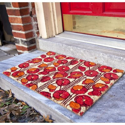 Seabolt Poppies Doormat