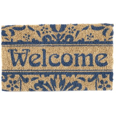 Damask Welcome Doormat