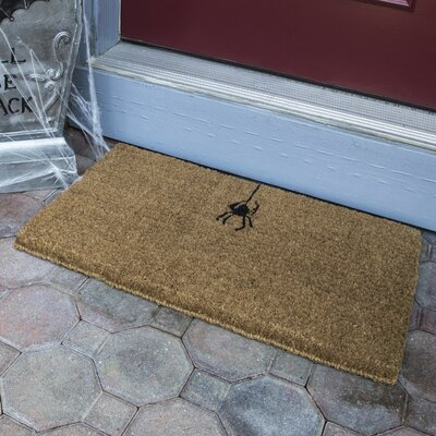 Thomson Spider Handwoven Coconut Fiber Doormat