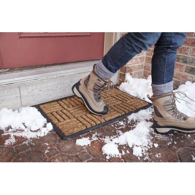 Bootscraper Criss Cross Doormat Size: Rectangle 16 x 26