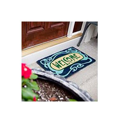 Lattimer Art Deco Welcome Doormat