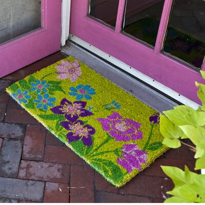 Caitlyn Wildflower Power Doormat Size: 18 x 30