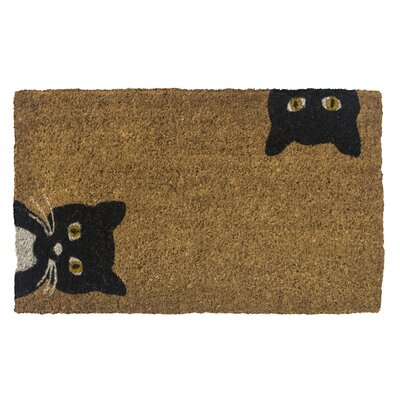 Zehr Peeping Cats Doormat