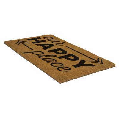 Pepin Happy Place Doormat