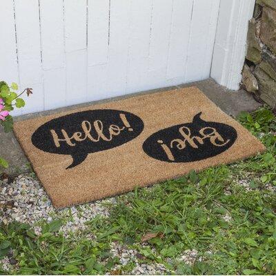 Dunagan Hello Bye Doormat