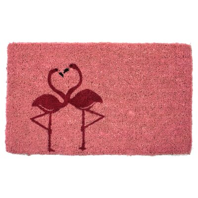 Colgate Flamingos Doormat