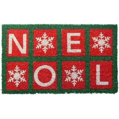 Handmade Noel Doormat