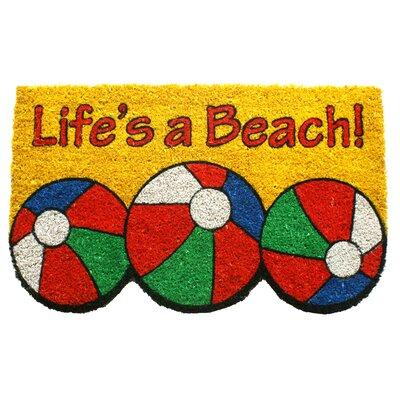 Sweet Home Lifes a Beach Doormat