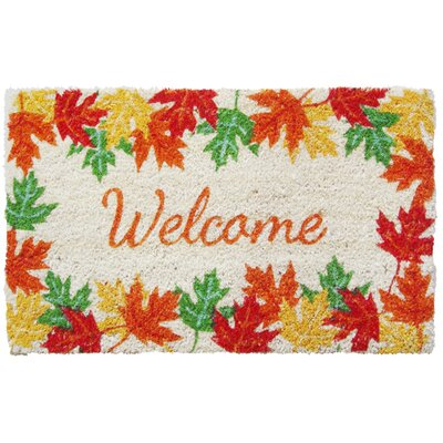 Entryways Sweet Home Leaves Welcome Doormat at Sears.com