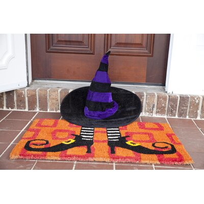 Handmade Wicked Witch Shoes Doormat