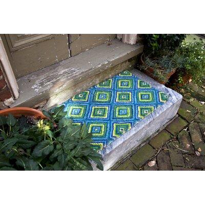 Sturbridge Summer Geometric Doormat Mat Size: Rectangle 18 x 30