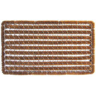 Stripes Wire Brush Boot Scraper Size: 14 x 25