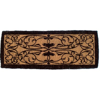 Adam Iron Grate Doormat Mat Size: Rectangle 18 x 47