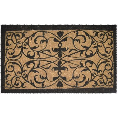 Adam Iron Grate Doormat Mat Size: Rectangle 18 x 30