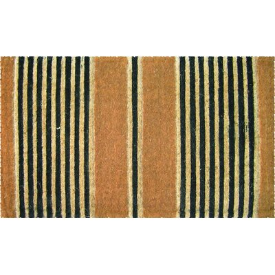 Warfel Ticking Stripes Doormat Size: 18 x 30