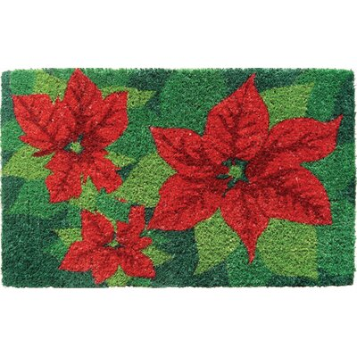 Handmade Doormat Mat Size: Rectangle 18 x 30
