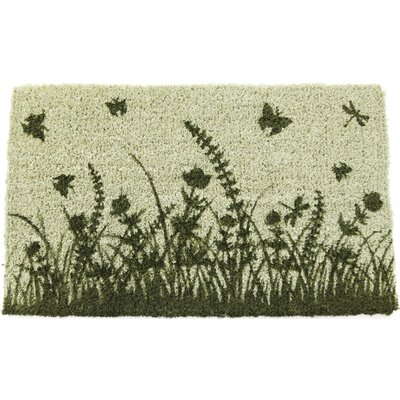Gassin Garden Silhouettes Doormat Mat Size: Rectangle 18 x 30
