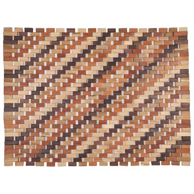 Exotic Woods Roosevelt Doormat Color: Natural