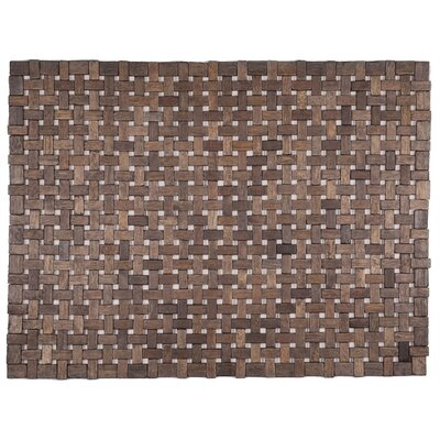 Exotic Woods Douglas Doormat Color: Black