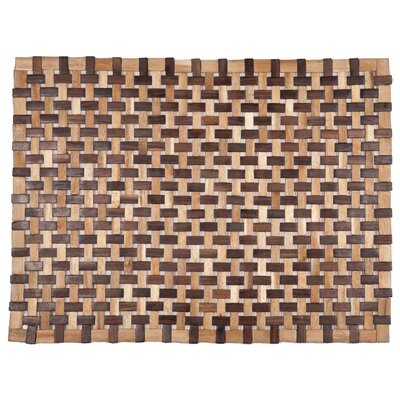 Exotic Woods Douglas Doormat Color: Natural