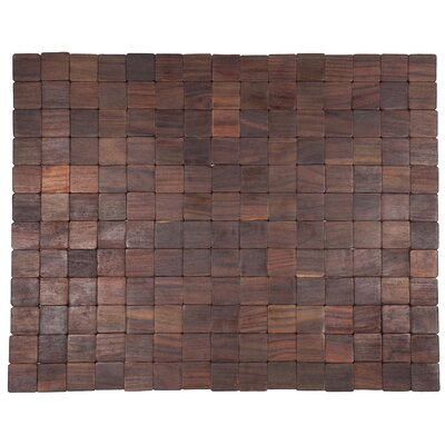 Exotic Woods Mather Doormat Color: Natural, Rug Size: 18 x 30