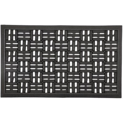 Recycled Rubber Scraper Doormat