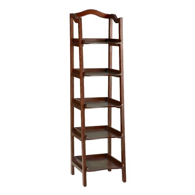 Exford 5 Tier Shelf Etagere 67.25'' Bookcase Product Photo 6225