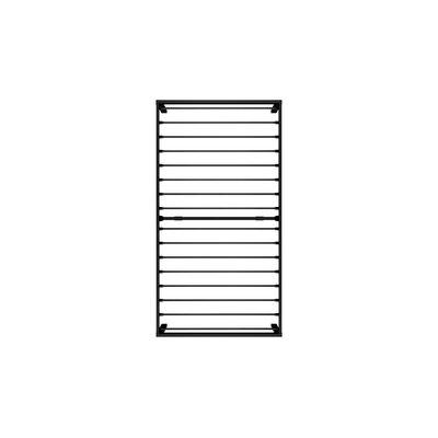 Sindel Platform Bed with Mattress Color: Black, Size: Twin