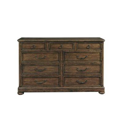 Vintage Patina 9 Drawer Dresser