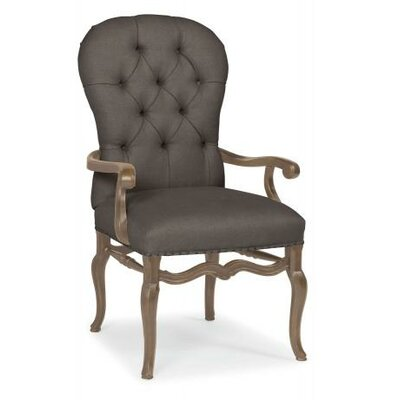 Belgian Oak Armchair Frame Finish: French Truffle