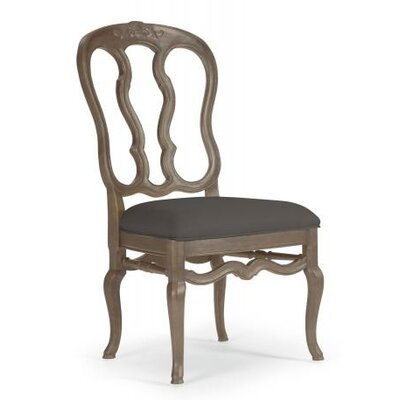 Belgian Oak Side Chair Frame Finish: French Truffle