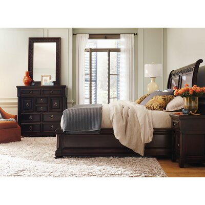 Pacific Canyon Sleigh Customizable Bedroom Set