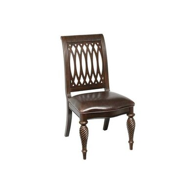 Belmont Genuine Leather Upholstered Dining Chair