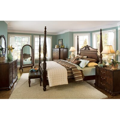 Belmont Queen Four Poster Customizable Bedroom Set