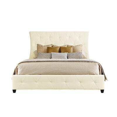 Jet Set King Upholstered Sleigh Bed