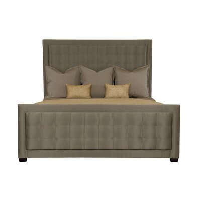 Jet Set Upholstered Panel Headboard Size: Queen